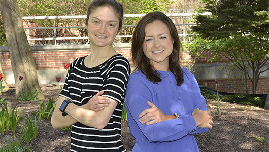 Kathleen Iles, Heather Nelson honored with Chancellor's Award for Student Excellence