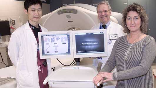 Upstate introduces new technology in the fight against liver cancer