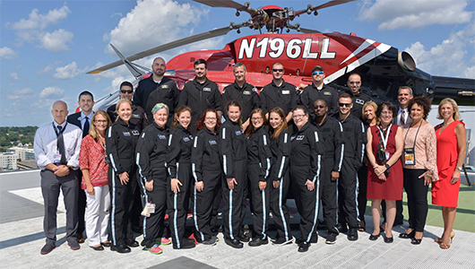 Upstate partners with Mercy Flight Central to deliver in-flight care to critically ill or injured kids
