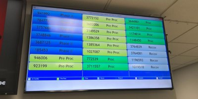 New patient status update boards operating at Community Campus
