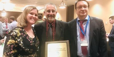 Cortland physician honored for his work with Upstate Medical University students
