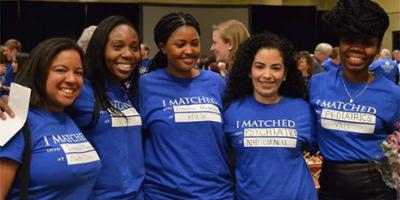 Medical students celebrate Match Day