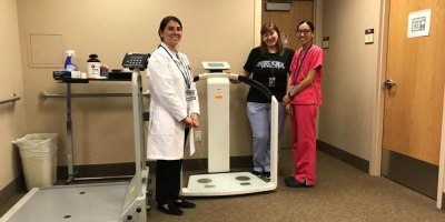 Upstate's bariatric surgery team acquires new body composition analyzer to monitor patient progress