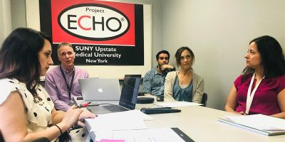 Upstate beams toxicologists to doctors across the state to address opioid epidemic, emerging drugs of abuse