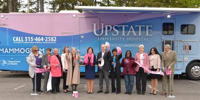 Upstate rolls out mammography van to boost breast cancer screenings in region