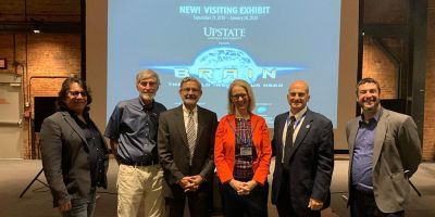 Upstate partners with the MOST to bring traveling brain exhibit to Syracuse