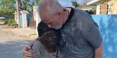 Upstate doctor treats hundreds on disaster relief trip to the Bahamas