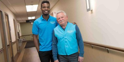 Upstate volunteers start wearing new, brighter color to stand out to patients, guests