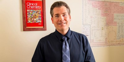 Health Professions professor named an Academy Fellow of the American Association for Clinical Chemistry