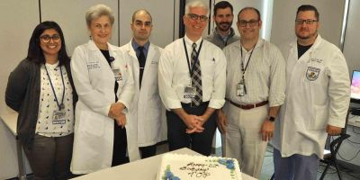 Upstate team treating lung cancer with effective, multidisciplinary approach turns 20