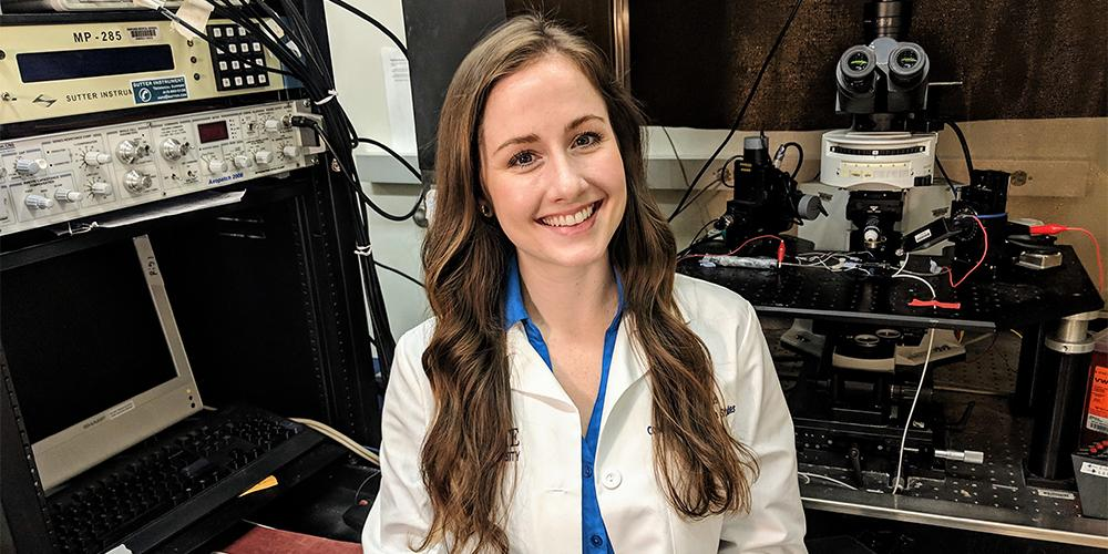 Hannah Phillips wins NIH grant to study dementia.
