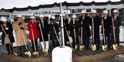 Upstate breaks ground on Nappi Longevity Institute