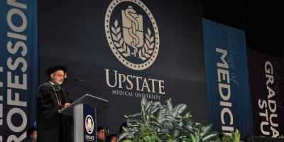 Upstate Medical University will hold a virtual Commencement Friday, May 1