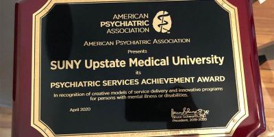 Upstate program aimed at addressing lack of psychiatrists in parts of New York honored by national psychiatric association