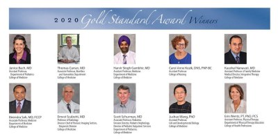 Upstate names 10 as 2020 Gold Standard Award winners