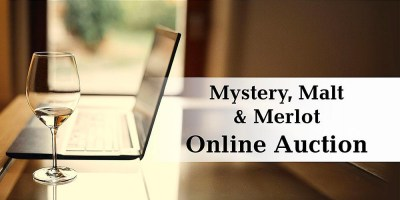 Mystery, Malt & Merlot Online Auction set for Oct. 19 through 24