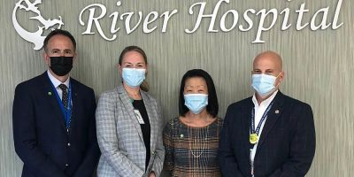 River Hospital and Upstate leadership meet to discuss to affiliation