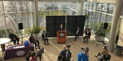 SUNY, Upstate Medical and Albany airport announce COVID-19 testing partnership