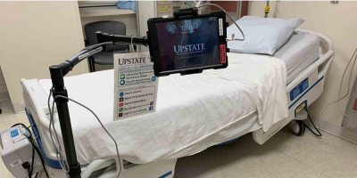 Upstate expands iPad program at both hospitals, allowing more patients to connect with family and friends