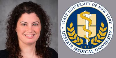 Jamie Cary wins major CF award for her work as Certified Child Life Specialist at Upstate's Robert C. Schwartz Cystic Fibrosis Center