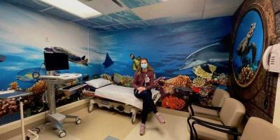 Upstate burn clinic gets child-friendly exam room makeover and child life specialist