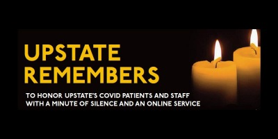 Upstate Remembers events Thursday, Friday to allow Upstate community to reflect on the pandemic, lives lost to COVID-19