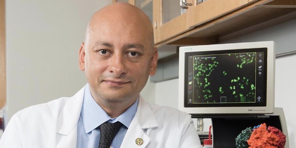 Mehdi Mollapour, PhD, received a prestigious Maximizing Investigators' Research Award.