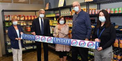Upstate Medical University opens food pantry for students in Weiskotten Hall