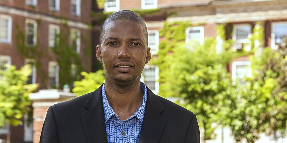 Alaji Bah, PhD, assistant professor in the Department of Biochemistry and Molecular Biology at Upstate Medical University was one of only 22 individuals out of 198 nominations to be named a Pew Scholar.