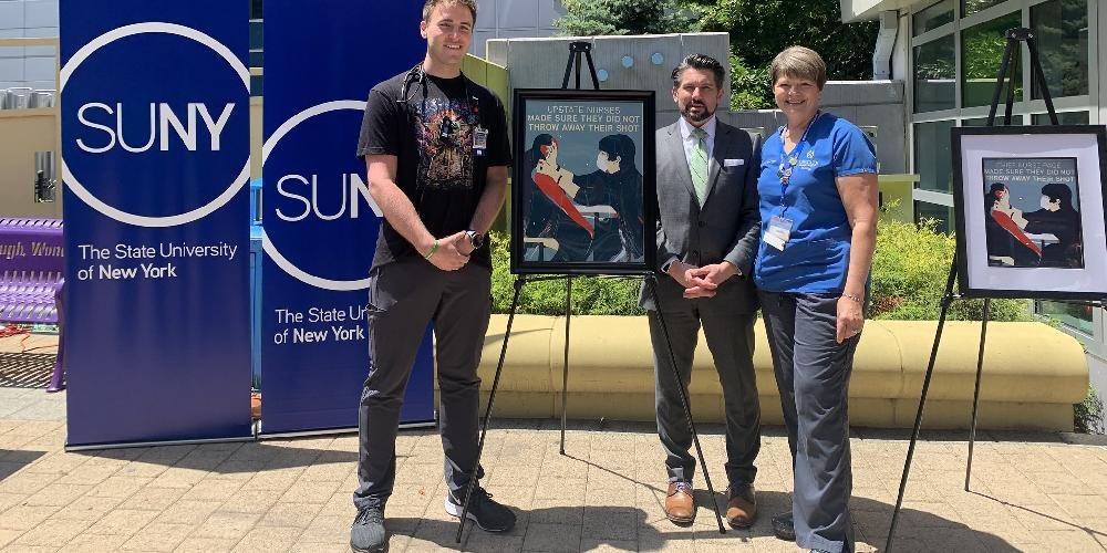 Recognizing the tireless commitment of the nursing staff, SUNY and Upstate worked closely with the New York State Public Employees Federation to finalize the agreement.