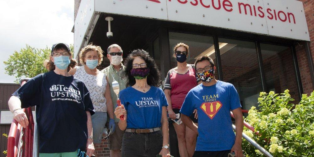 The shelter was selected in early 2020 as Upstate's Your Cause charity, but the pandemic put some volunteer activities on hold, so plans to support the project will continue throughout 2021.