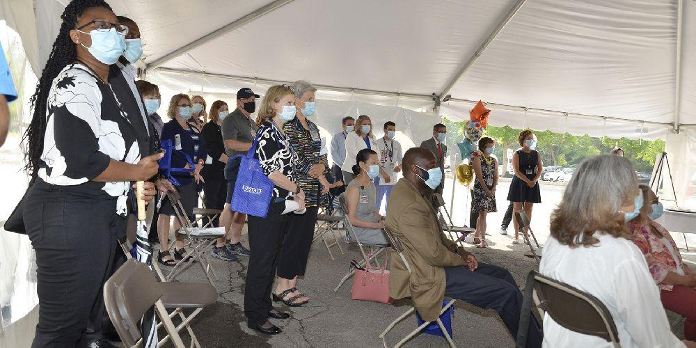 Community officially joined Upstate July 7, 2011, making Upstate the largest hospital in the region at 715 beds.