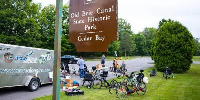 Adaptive recreational equipment available for use during Triad on the Trails Aug. 7