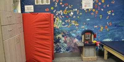 Whimsical therapy rooms lessen anxiety for children