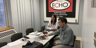 Upstate's Project ECHO serves up special covid sessions to more than 2000 area health care providers