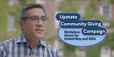 Upstate kicks off Community Giving Campaign