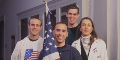 Upstate Respiratory Therapy alum and faculty stepped forward to help after 9/11