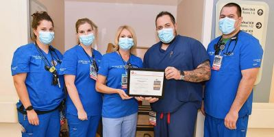 Upstate receives three awards for exceptional care from American Heart Association/American Stroke Association
