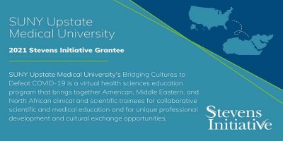 Upstate Medical University receives Stevens Initiative funding for program to virtually connect young people around the world