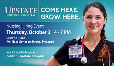 Upstate Nursing Hiring Event