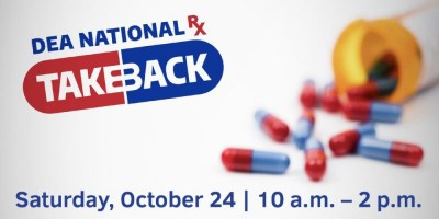 Dozens of options to rid home of unwanted, expired prescription drugs at 2020 #TakeBackDay
