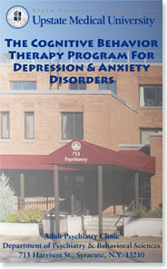 The Cognitive Behavior Therapy Program for Depression & Anxiety