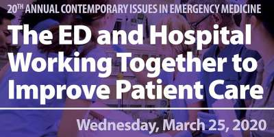 20th Annual Contemporary Issues in Emergency Medicine