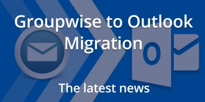 Groupwise to Outlook Migration Information