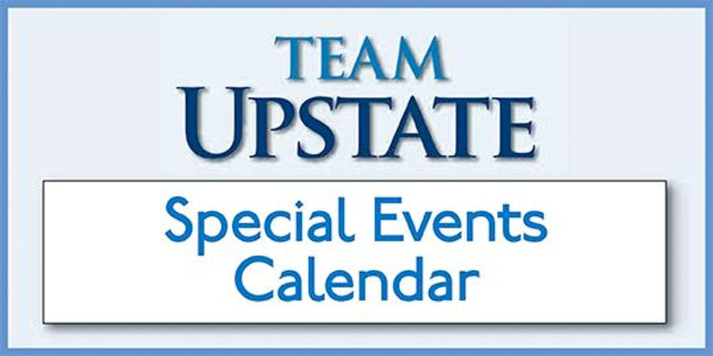 Team Upstate Special Events