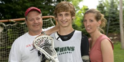 One amazing save: Quick action brought DeWitt teen back to life after a lacrosse ball slammed into his chest