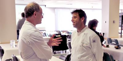 Weight loss surgeon meets weight loss chef