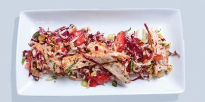 Healthy recipe: Strawberry, Chicken and Fennel Salad