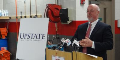 Grant Upstate received from Excellus BlueCross BlueShield will put cardiac equipment in ambulances