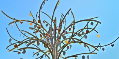 Much thought, artistry behind children's hospital memorial tree
